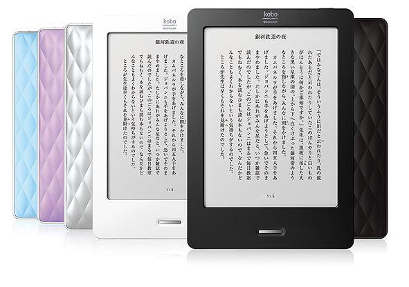 7,980円でKobo Touch発売!同額のNovo7 Tornado と比較してみる