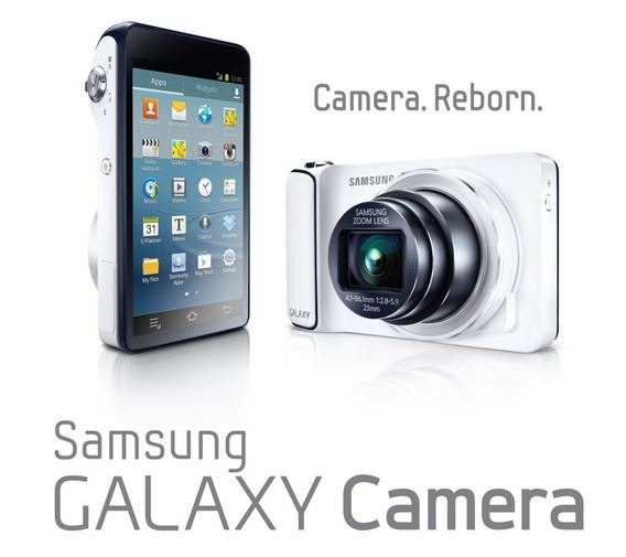 SIMスロット搭載カメラ「GALAXY Camera EK-CG100」
