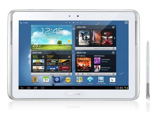 クアッドコア&10インチお絵かきタブレット「Galaxy Note 10.1」2012年8月16日発売