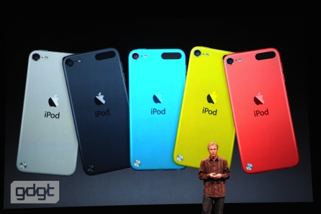 第5世代 iPod touch 32GB は24,800円、9月14日予約開始!