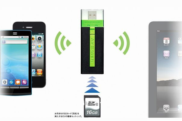 Nexus 7 のSDカード代わりに「 Wi-Fi メモリーカードリーダー 」という手法