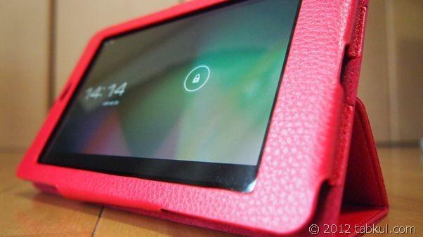 Nexus 7 購入レビュー | カバー・ケース到着、マグネットのスリープ・チェック と ポケモンキーボードほか