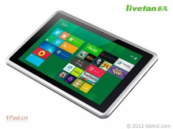 約26,000円の中華Windows8タブレット「LiveFan F1」が登場か