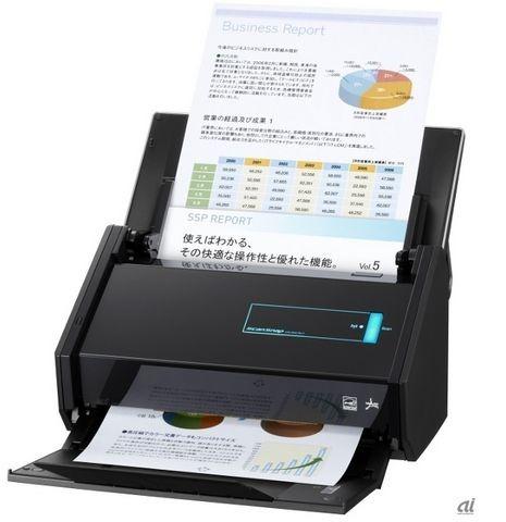 Wi-Fi内蔵スキャナ「ScanSnap iX500」登場、価格は49,800円