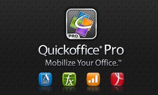 値下げ   Office系 Androidアプリ「Quickoffice Pro」が 99円で提供中