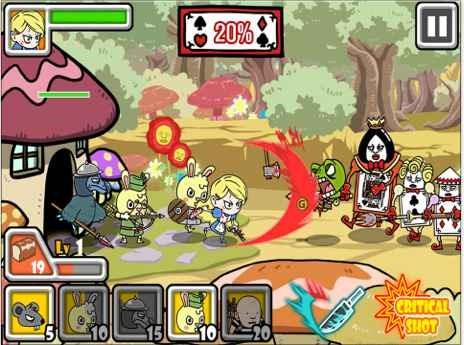 アリスの防衛ゲーム「Alice Defence」が無料セール中 / iOSアプリ