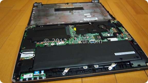 VivoBook X202E 購入レビュー09 | 分解!HDDからSSDへ換装する