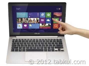 タッチ対応 Windows 8 「VivoBook X202E」が5万円以下に / スペック表,動画ほか