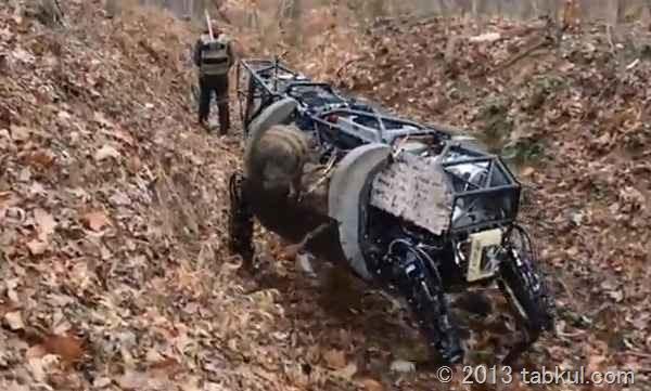 軍事用ロボット犬「LS3」、、、が犬ではない話