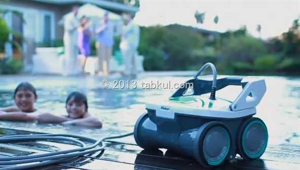 プールの ろ過も行う お掃除ロボット登場、価格は1099.99ドル / 新型ルンバ「Mirra 530 Pool Cleaning Robot」 / iRobot