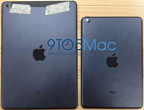 iPad 5 のバックプレート画像がリーク!?