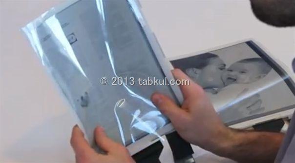 CES 2013 / まるでハリーポッターの新聞みたい、「PaperTab」の時代は来るのか