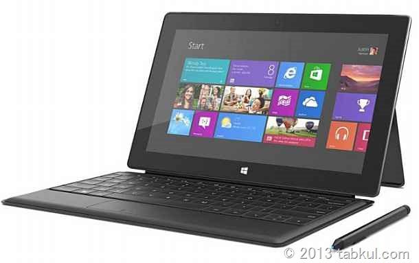 Surface Pro の64GBモデルは、空き容量23GBという話