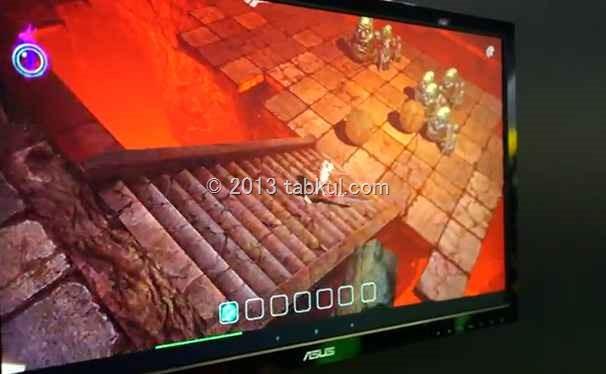 もはやゲーム機!Nvidia Tegra 4 のハンズオン動画が公開中