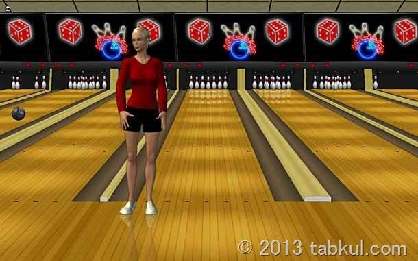 価格 299円のシンプルなボウリングゲーム「Vegas Bowling」の試用レビュー / Android アプリ