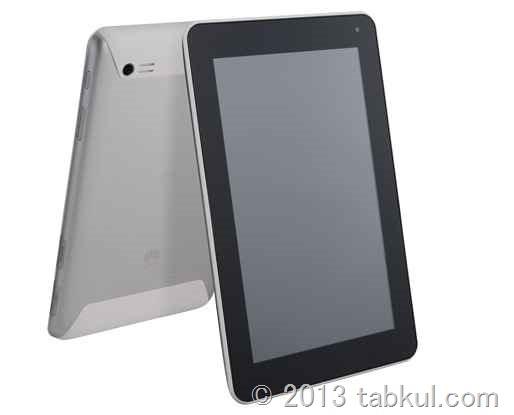 Huawei、7インチ SIMフリー タブレット「MediaPad 7 Lite」が2月16日発売へ / スペックを確認する