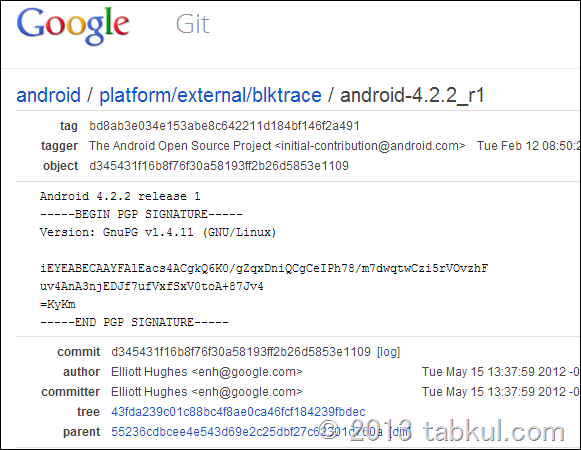 Android 4.2.2 (JDQ39) のソースコードが公開