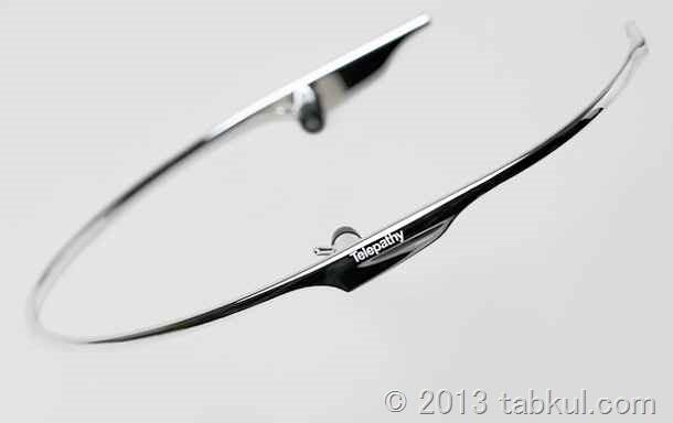 日本ベンチャー、Google Glass対抗デバイス「Telepathy」を発表