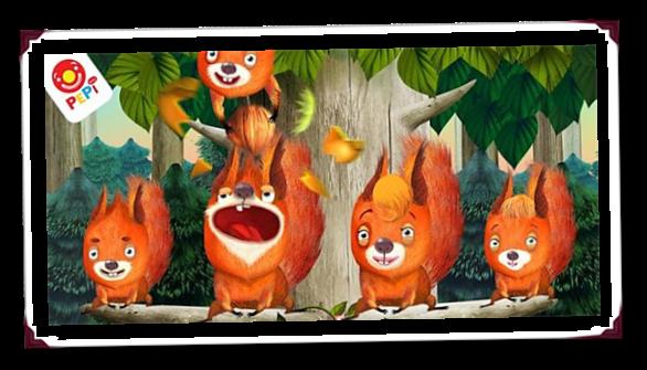 価格 206円、動物を学ぶゲーム「Pepi Tree」の試用レビュー / Androidアプリ