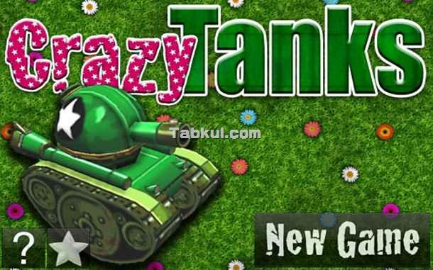 価格 99円、気軽にできる3D戦車ゲーム「Crazy Tanks」の試用レビュー / Androidアプリ