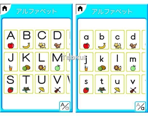 すべての講義 アルファベット 大文字 小文字 表 : ... アルファベットを選ぶスタイル
