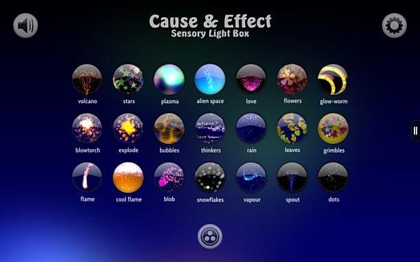価格 126円、Kindle Fire限定セール「Cause and Effect Sensory Light Box」の試用レビュー / Androidアプリ