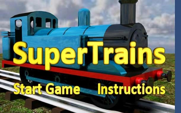 価格 264円、電車を運転するゲーム「SuperTrains」の試用レビュー / Androidアプリ