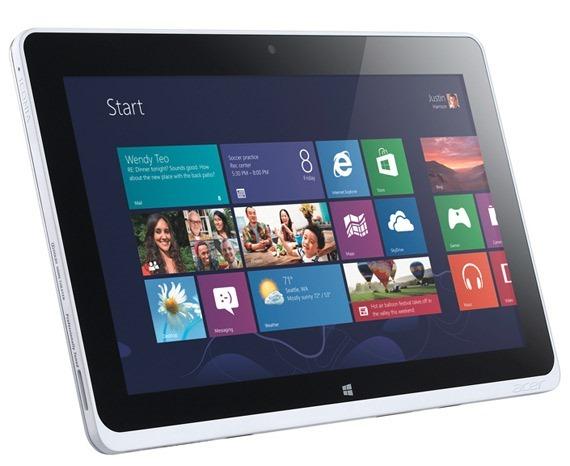 Acer、Haswell搭載11.6インチ(2560x1440)Windows 8タブレット『Acer Bulgari』を用意か