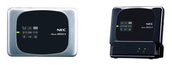 リモート起動に給電もできるLTEルーター「Aterm MR02LN」、MVNO各社から発売へ