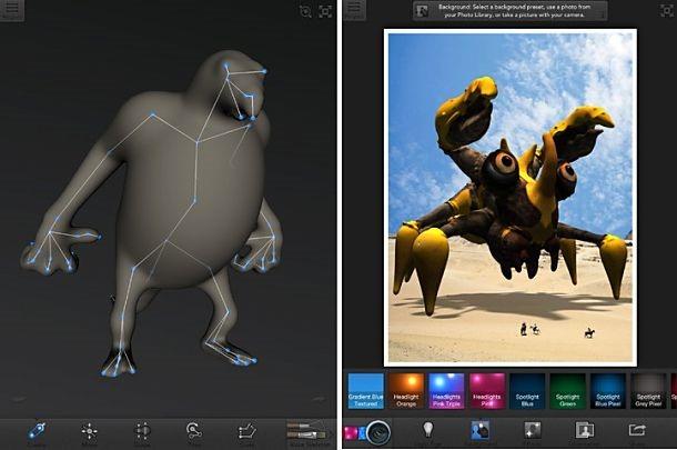 通常450円、3Dプリンター対応のキャラ製作アプリ『Autodesk 123D Creature』が無料配信中