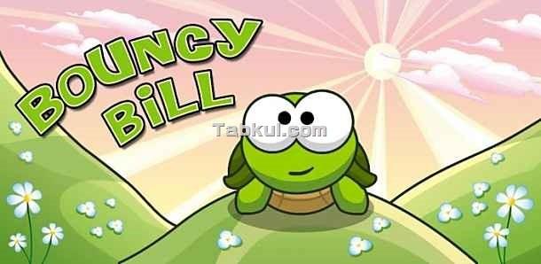 広告フリー版、カメをジャンプさせるゲーム「Bouncy Bill Plus」の試用レビュー / Androidアプリ