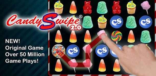 価格 299円、お菓子を消すパズルゲーム「CandySwipe」の試用レビュー / Androidアプリ