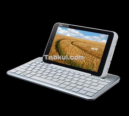 世界初!! Acerが8.1インチのWindows8搭載タブレット『Iconia W3』を公開、スペックなど