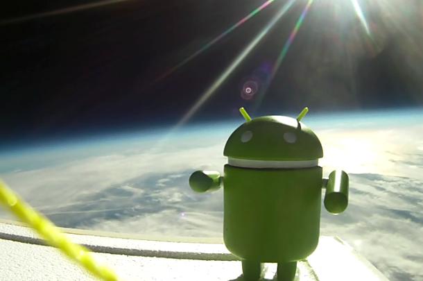 Nexus 7 と Fonepad で GPS対決、衛星数で競う
