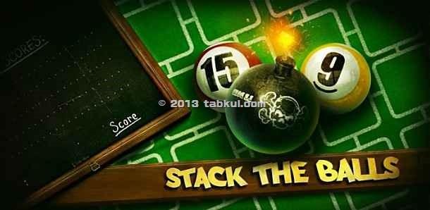 広告フリー版、4つ並べるパズルゲーム「Stack the Balls」の試用レビュー / Androidアプリ