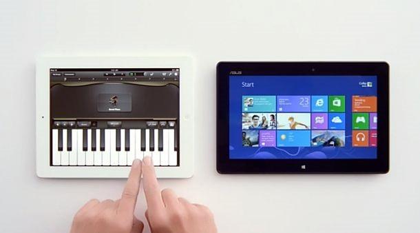 Microsoft、Siri を活用した iPad 比較CMを公開