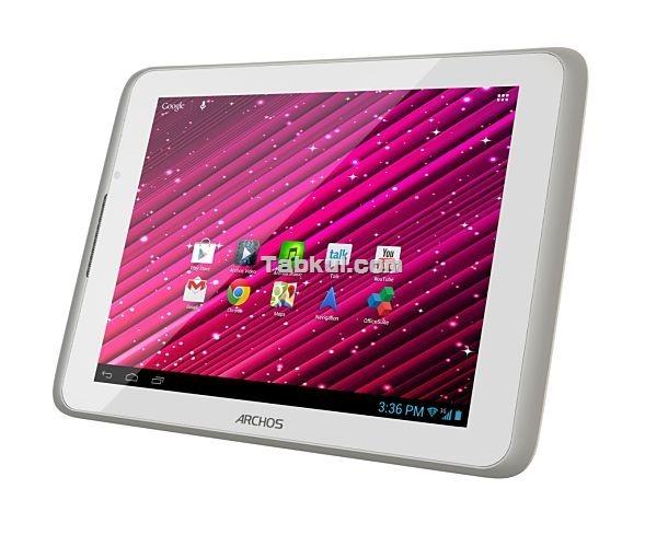 3G対応 / クアッドコア / 8インチ Android タブレット「ARCHOS 80 Xenon」は200ドル、スペック表ほか