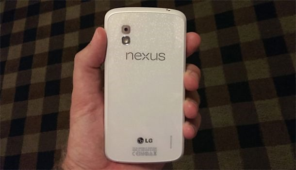 Android 4.3 搭載 Nexus 4 (白)が 6/10 発売の噂