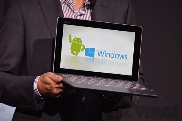 ASUS、CPU2個搭載 Android / Windows 起動可能『Transformer Book Trio』発表