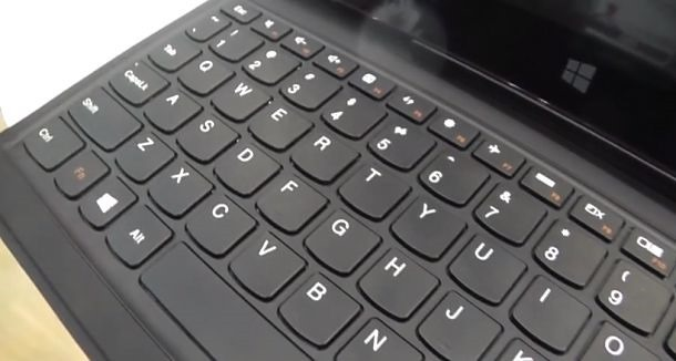 Win8タブレット『Lenovo Miix 10』のハンズオン動画 #Computex2013