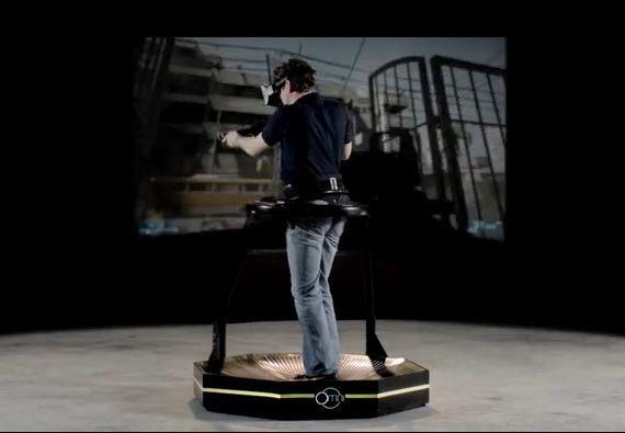 走れるVRゲーム装置『Omni』が楽しそう #Kickstarter