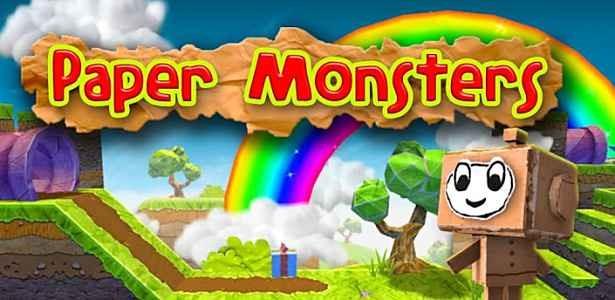 価格 282円、ふわふわ横スクロールアクション「Paper Monsters」の試用レビュー / Androidアプリ