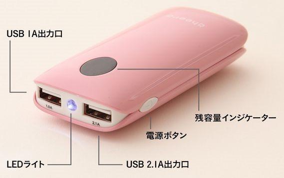 LEDライト付き小型モバイルバッテリー『cheero Grip』を購入、選んだ理由