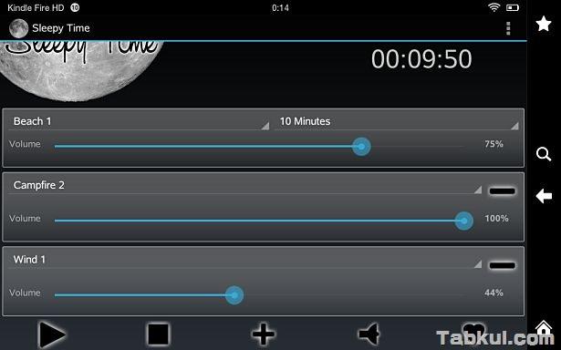 価格 116円、睡眠支援アプリ「Sleepy Time」の試用レビュー / Androidアプリ