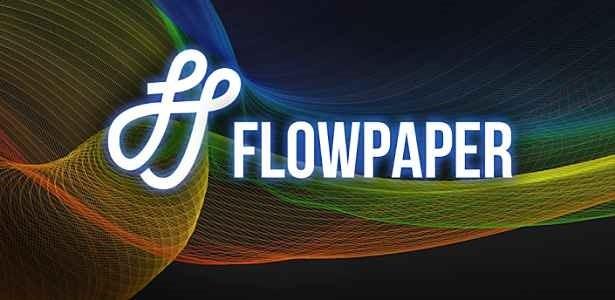 価格 190円、指先で壁紙を作成できる「Flowpaper」の試用レビュー / Androidアプリ