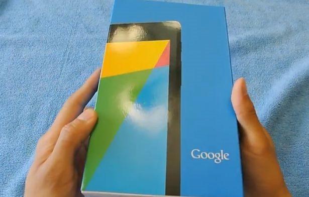 未発表の第2世代『Nexus7』、開封動画が公開される