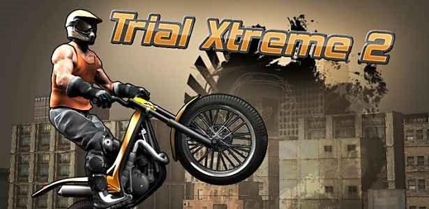 価格 234円、バイクゲーム「Trial Xtreme 2」の試用レビュー / Androidアプリ