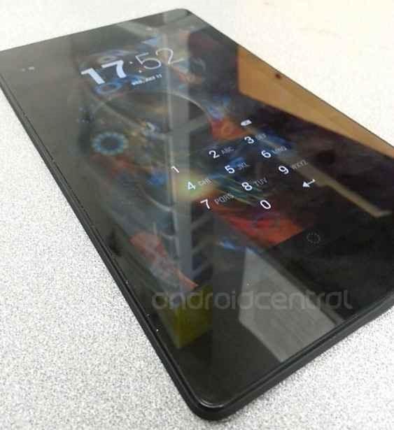 第2世代Nexus 7の実機画像・動画が流出