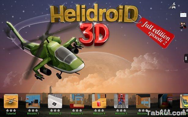 価格不明、3Dラジコンヘリ再び「Helidroid 3D Episode 2」の試用レビュー / Androidアプリ