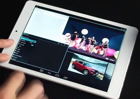 iPad miniクローン『Chuwi V88』がマルチウィンドウ対応に(動画あり)